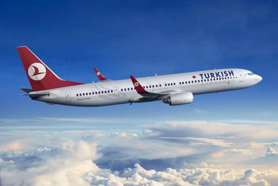 самолет Турецкие авиалинии